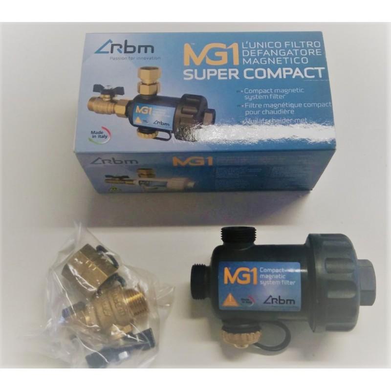 RBM SUPER COMPACT MG1 FILTRO DEFANGATORE MAGNETICO SUPER-COMPATTO PER CALDAIA