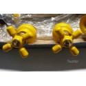 Kit rubinetteria  per bidet marca FIR colore giallo