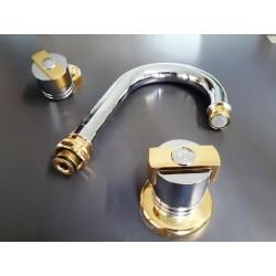 3M rubinetteria serie Trionfo cromo ottone