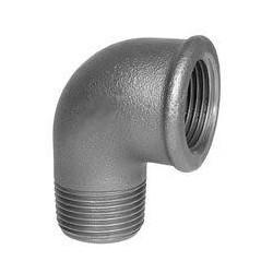 Raccordo a gomito 90 zincato 3/8 M F