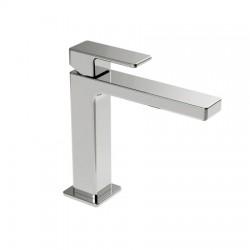 Monocomando lavabo con scarico marca La Torre, flex inox.