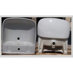 lavandino Pozzi Ginori Square bianco