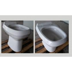 wc di marca Pozzi Ginori colore bianco