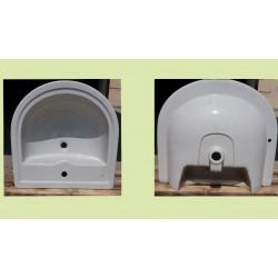 Lavabo marca Pozzi Ginori modello Square colore bianco