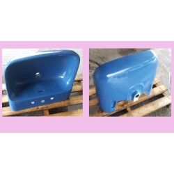 Lavabo marca Ideal Standard modello Conca color blu fondale , tre fori