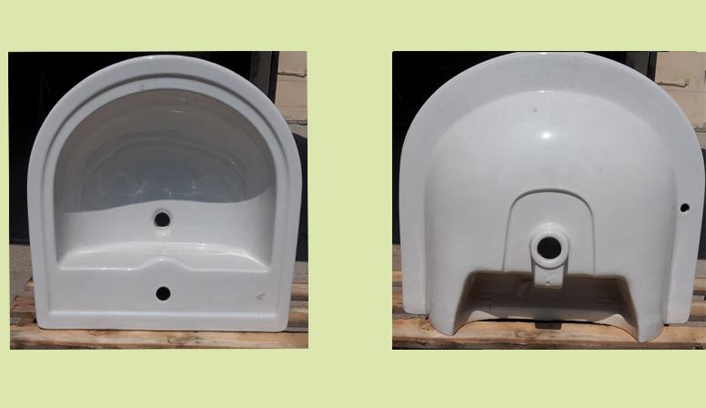 Lavabo marca Ideal Standard modello Calla color bianco europeo